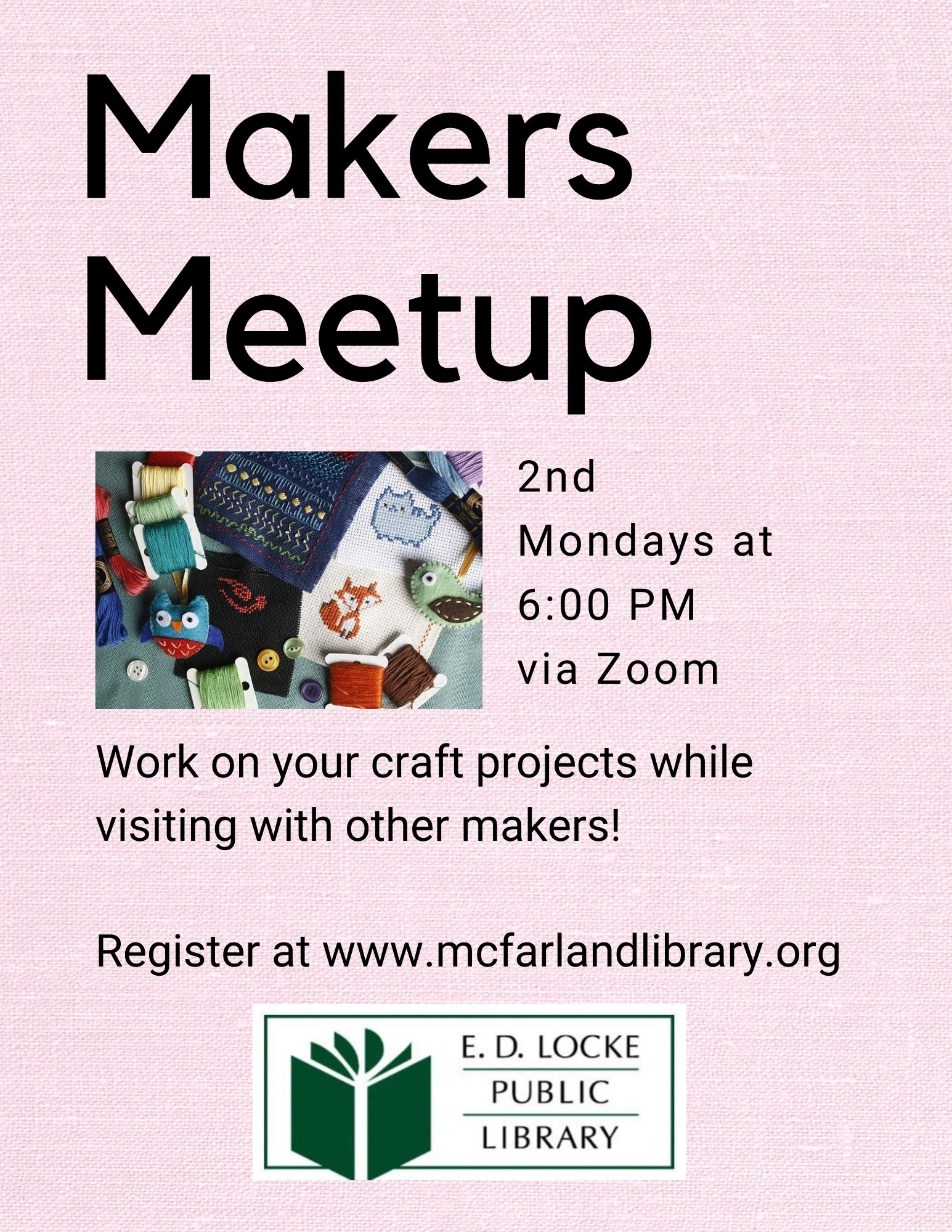makers meetup flyer
