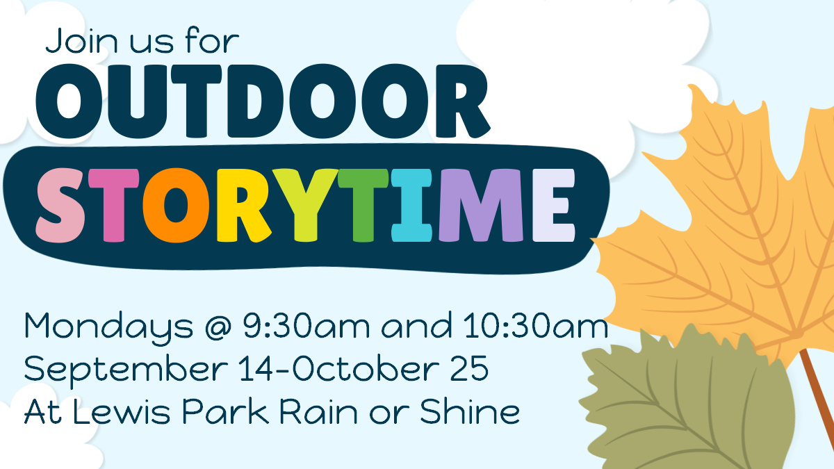 Fall Outdoor Storytime