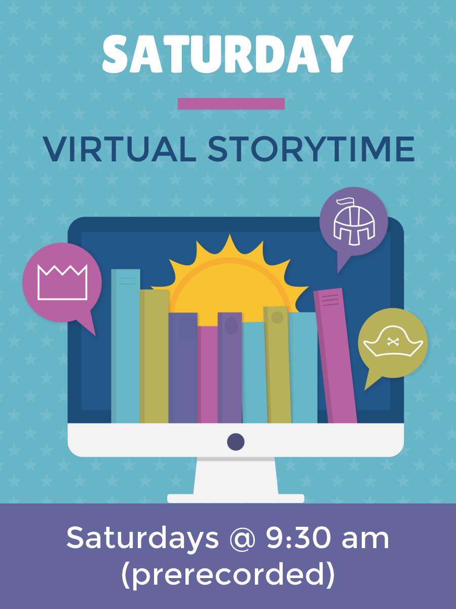 Saturday Virtual Storytime